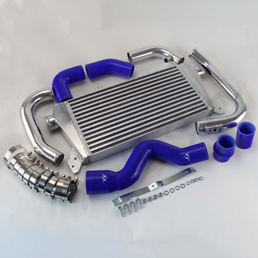 Upgrade Front Mount Intercooler Kit for Audi A4 1.8T Turbo B6 Quattro 02-06